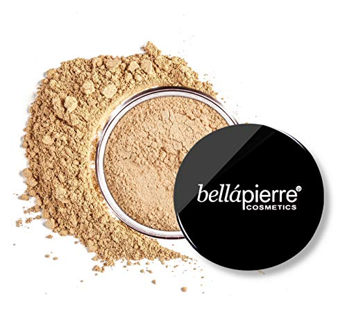 bellapierre Mineral Foundation SPF 15, Loose Powder, Full Coverage - 0.32 Oz. (Cinnamon)