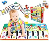 4 Tipos de música con temática Animal Piano Pads Play Play Mat Toys Instrumentos Musicales Música Toys Play Mats Juguetes educativos para niños