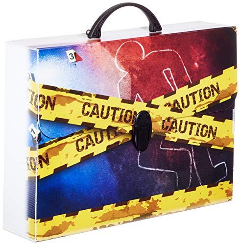 Balmar 2000 054909, Valigetta in Polionda, Crime, 28 x 38 x 8 cm, Modelli /colori assortiti