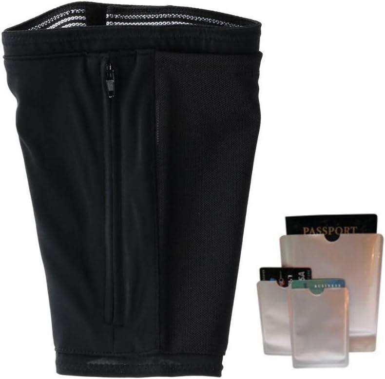 Hidden Travel Leg Quantity limited Wallet Zipper Concea Pouch It is very popular Under Pockets Pants