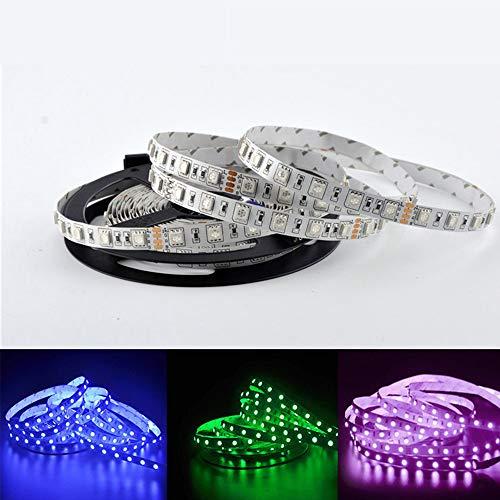 LED-lichtsnoer, 12 V, 5050 Soffusa Rgb met waterdichte lijm, lage druk, flexibel met teller, LED-licht Groen