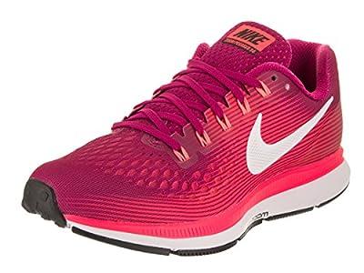 NIKE Women's Air Zoom Pegasus 34 Running Shoe (Gem)