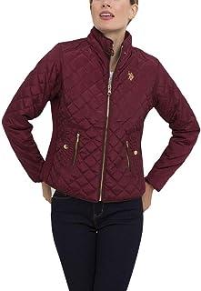 3fdfd458e22 U.S. Polo Assn. Women s Quilted Moto Windbreaker Jacket