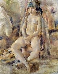 ジュール・パスキン,サロメ,1930年