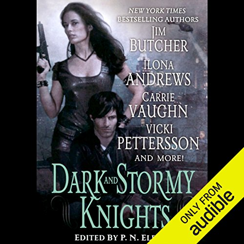 Page de couverture de Dark and Stormy Knights