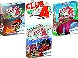 Atomo Games. Club A. Set 3 Juegos. Jeff el grumete, Bob el Explorador, Jessie The Tourist. Juegos educativos de Cartas