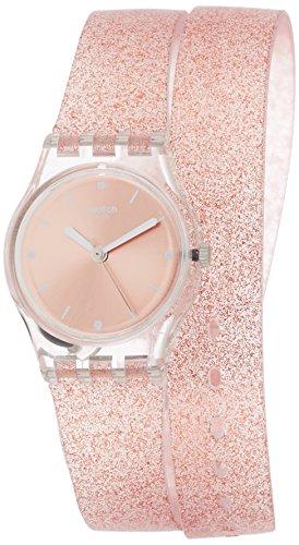 Swatch Orologio Digitale Quarzo da Donna con Cinturino in Silicone LK354C