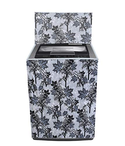Yellow Weaves Top Loading Fully Automatc Washing Machine Cover for 6.5 kg,7kg -(Grey)