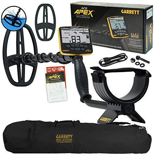 Garrett ACE APEX Metal Detector with Garrett Carry Bag