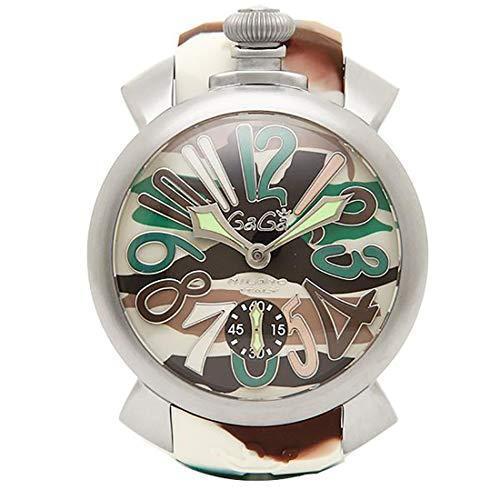 (ガガミラノ) ガガミラノ 時計 メンズ 5010.18S MANUALE マヌアーレ 48MM スイス製 手巻き 腕時計 ウォッチ...