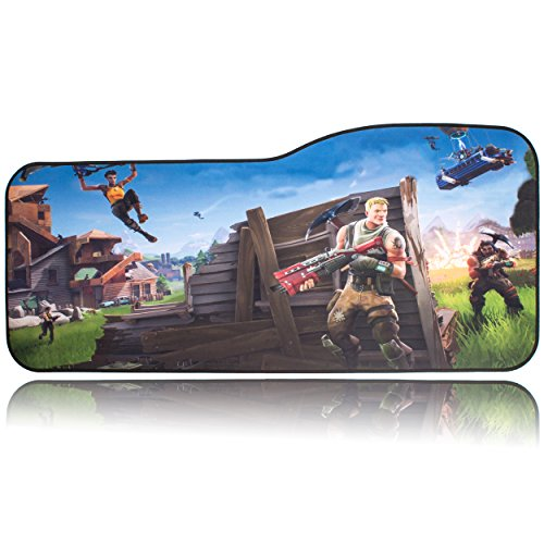 BRILA Extended Mouse pad - Curve Design Gaming Mouse pad -...