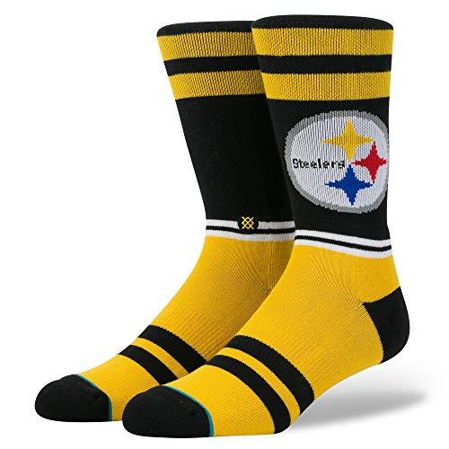 Stance NFL Logo Socken, L, Yellow