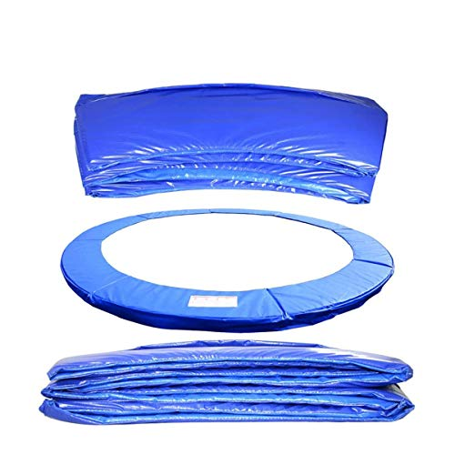 Upper Bounce Premium Replacement Trampoline Surround Pad UV Resistant PVC EPE Foam Safety Guard Spring Cover Padding Pads Fits for Round Frames,12FT