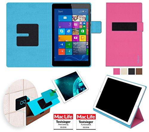 Hülle für Archos 80 Cesium Tasche Cover Hülle Bumper | in Pink | Testsieger