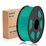 SUNLU 3D Printer Filament PLA Plus Grass Green, PLA Plus Filament 1.75...