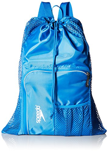 Speedo Unisex-Adult Deluxe Ventilator Mesh Equipment Bag , Imperial Blue