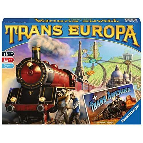 Ravensburger Trans Europa Gioco di Famiglia, Multicolore, 26054