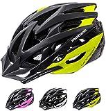 meteor® Casco Bicicleta Helmet de Bici para jóvenes y Adultos para Ciclismo MTB Road Race Montaña BMX Carretera y Otras Formas de Actividad Ciclista Casco Protección Unrest
