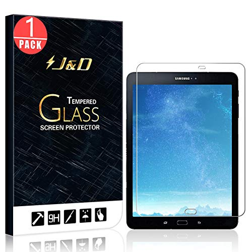 J&D Compatible para 1 Paquetes Galaxy Tab S3 9.7 Protector de Pantalla,...