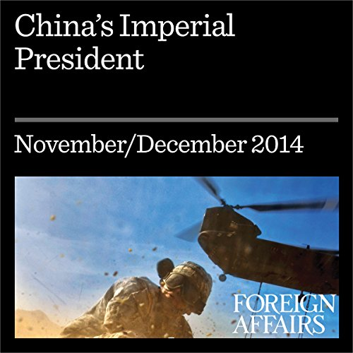 China's Imperial President audiobook cover art