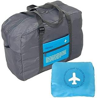 Nylon Duffle Bag For Unisex,Blue - Travel Duffle Bags