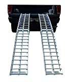 Pit Posse Pp2755-9P Pair Of Folding Arched Ramps 9 Foot X 11In 1200Lbs