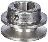 Fartools 117230 - Polea (aluminio, diámetro: 50 mm, calibre: 24 mm) Negro