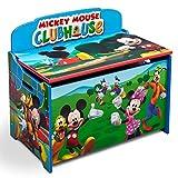 Delta Children Deluxe Toy Box, Disney Mickey Mouse