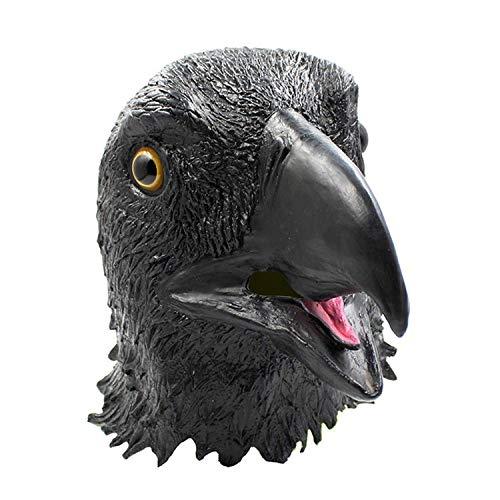 XBYUK Máscara de águila, Caperuza de águila Espacial altísima, Barra de máscara Realista ordenada COS Scary