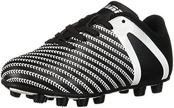 Vizari Baby Impact FG Soccer Shoe, Black/White, 8 Regular US Toddler
