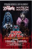Original Concert poster 2012 Rob Zombie and Marilyn Manson Twins Of Evil United Kingdom Reprinted 11 x 17 inches