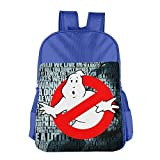 stalishing Kid 's Ghost Busters logotipo escuela bolsa mochila