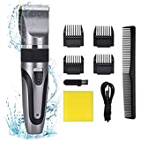 Professional Hair Clippers, Rechargeable Beard...