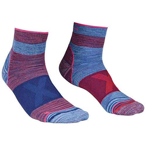 Ortovox Damen Alpinist Quarter Socken, Hot Coral, 39-41 (M)
