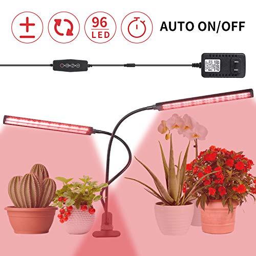 StAuoPK Lámpara LED Nueva Planta de la Cabeza del Doble del Clip, 50W El Tiempo de atenuación de Faros Crecimiento