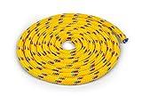 Vinex Seilspringen - Springseil 3 Meter - schönes Muster - gelb