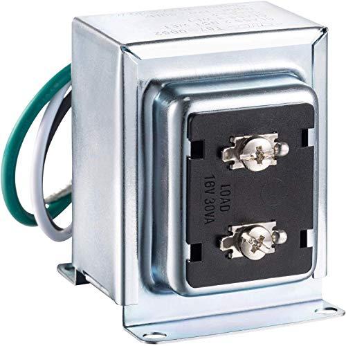 BENSN Doorbell Transformator Kompatibel mit Video Doorbell Pro Nest Hello Video Doorbell 16V 30VA Festverdrahteter Türgong-Transformator