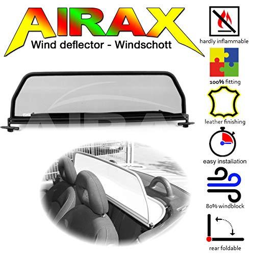 Airax Windschott für 206CC 206 CC Windabweiser Windscherm Windstop Wind deflector déflecteur de vent