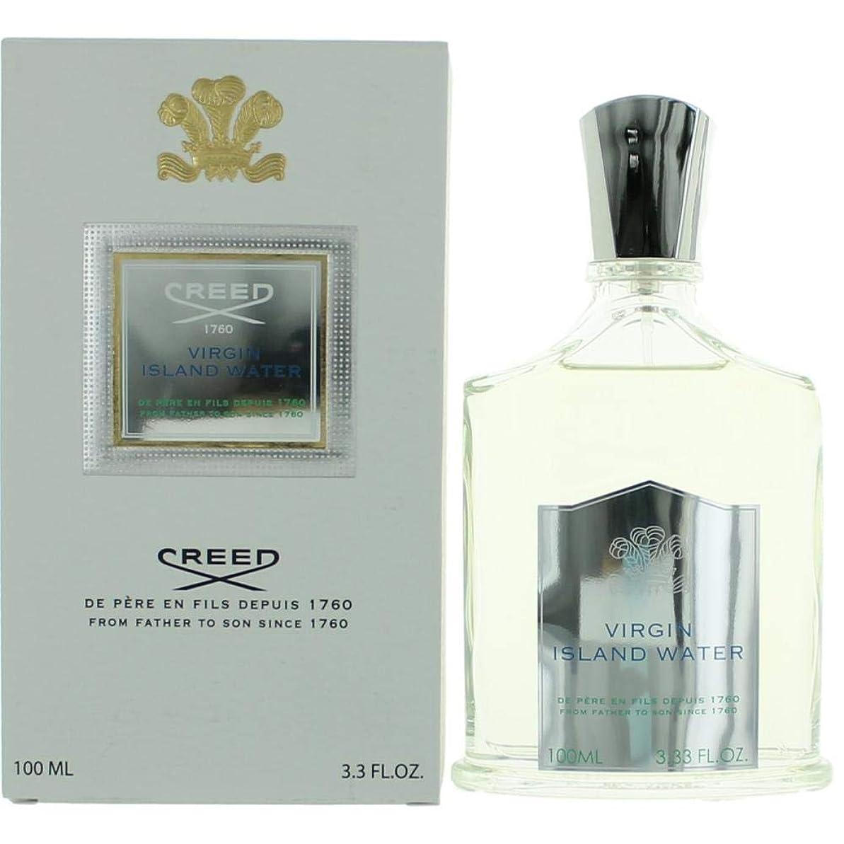 舞い上がる怠けた干渉するCreed Fragrances Virgin Island Water Eau De Parfum Spray - 3.33oz/100ml