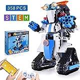 NextX STEM Building Set Robots for Kids Brick Toy Remote & APP Controlled