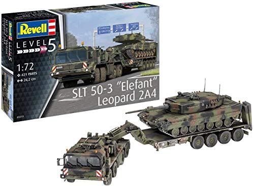 "Revell REV-03311 SLT 50-3"" Elefant und Leopard 2A4, 1:72 Toys, farbig"