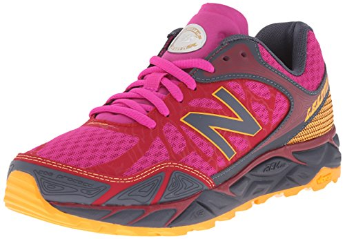 New Balance Women's Leadville V3 Trail Running Shoe, Pink/Grey, 5 B US