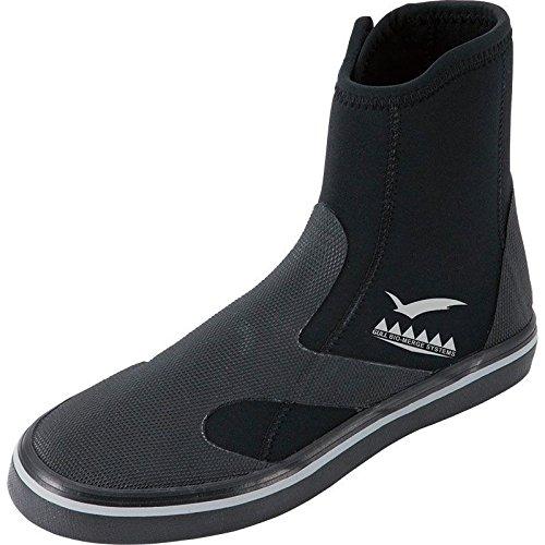 GULL ガル GSブーツII ウィメンズ ブラック GA-5644 ダイビング ブーツ ブラック/23.0