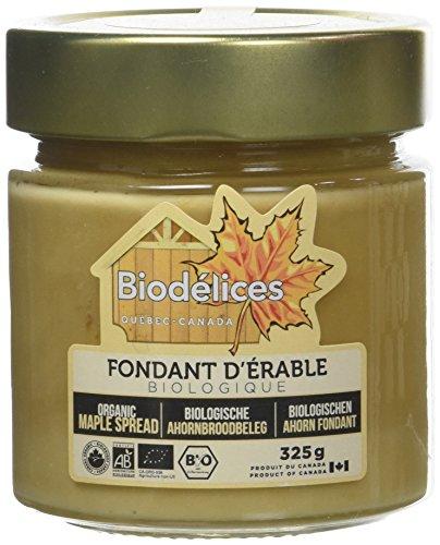 Biodelices Fondant d'Érable Bio, 0.325 kilograms