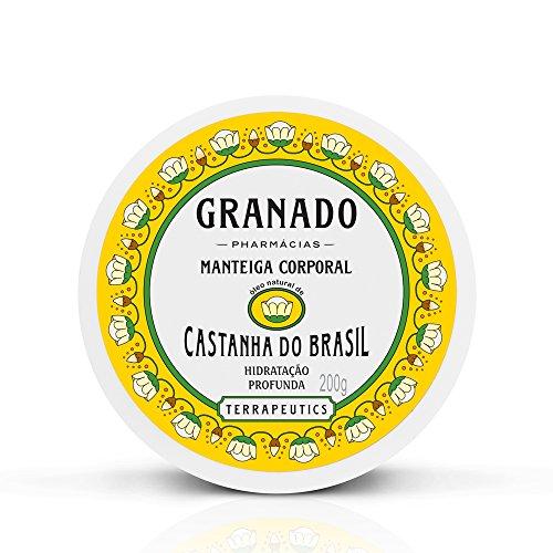 Granado Terrapeutics Castanha Do Brasil Chestnut Body Butter 8 Fl.Oz. From Brazil by Granado