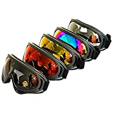 Best Dust Goggles - Dplus Motorcycle Goggles - Glasses Set of 5 Review