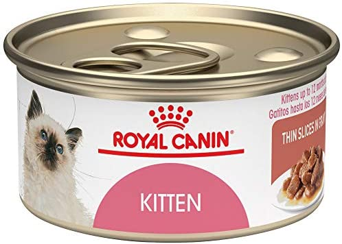 Royal Canin Feline Health Nutrition Thin Slices in Gravy Wet Kitten Food