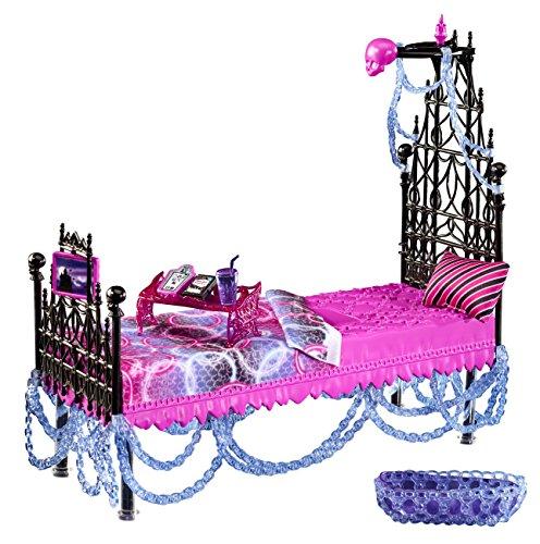 Mattel Monster High Y7714 - Spectras Bett, Zubehör