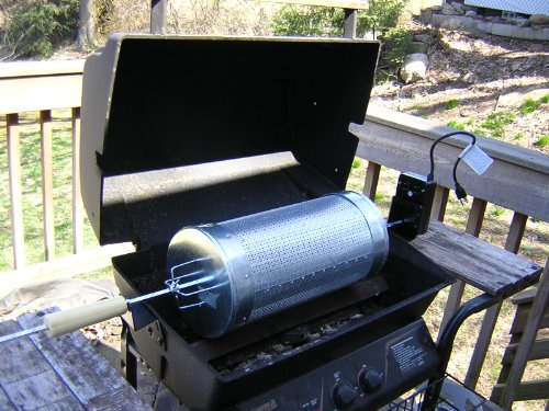 Make Your Own Coffee Roaster Drum for BBQ Grills (English Edition)