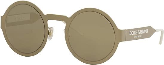 Dolce & Gabbana LOGO DG 2234 PALE GOLD/BROWN GOLD 51/27/140 women Sunglasses